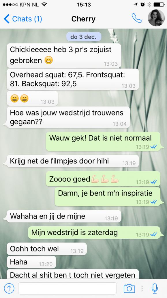 CrossFit talk