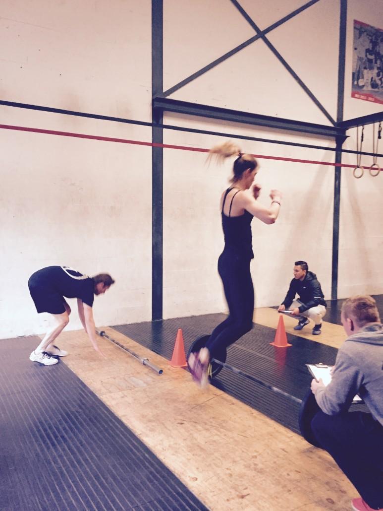 CrossFit Open workout 16.1