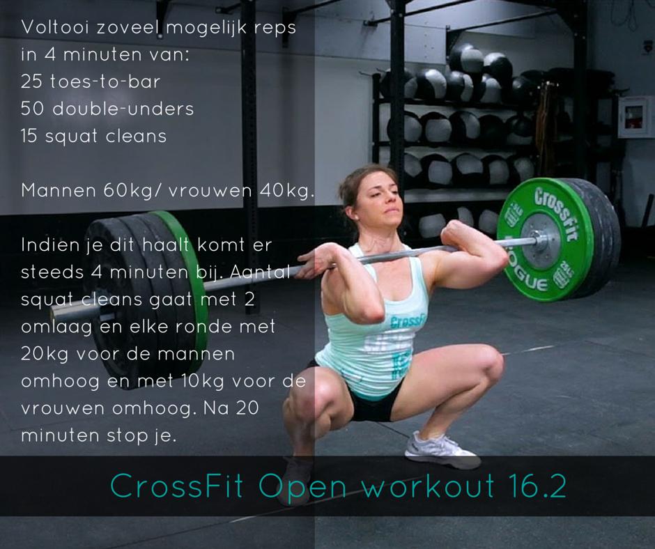 CrossFit Open 16.2