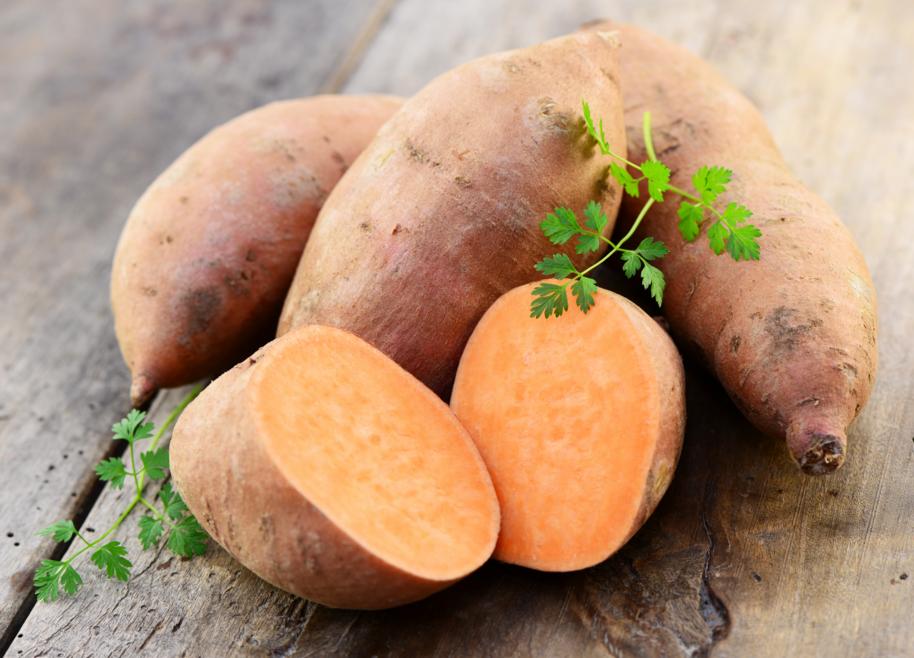 De zoete aardappel ontdekking