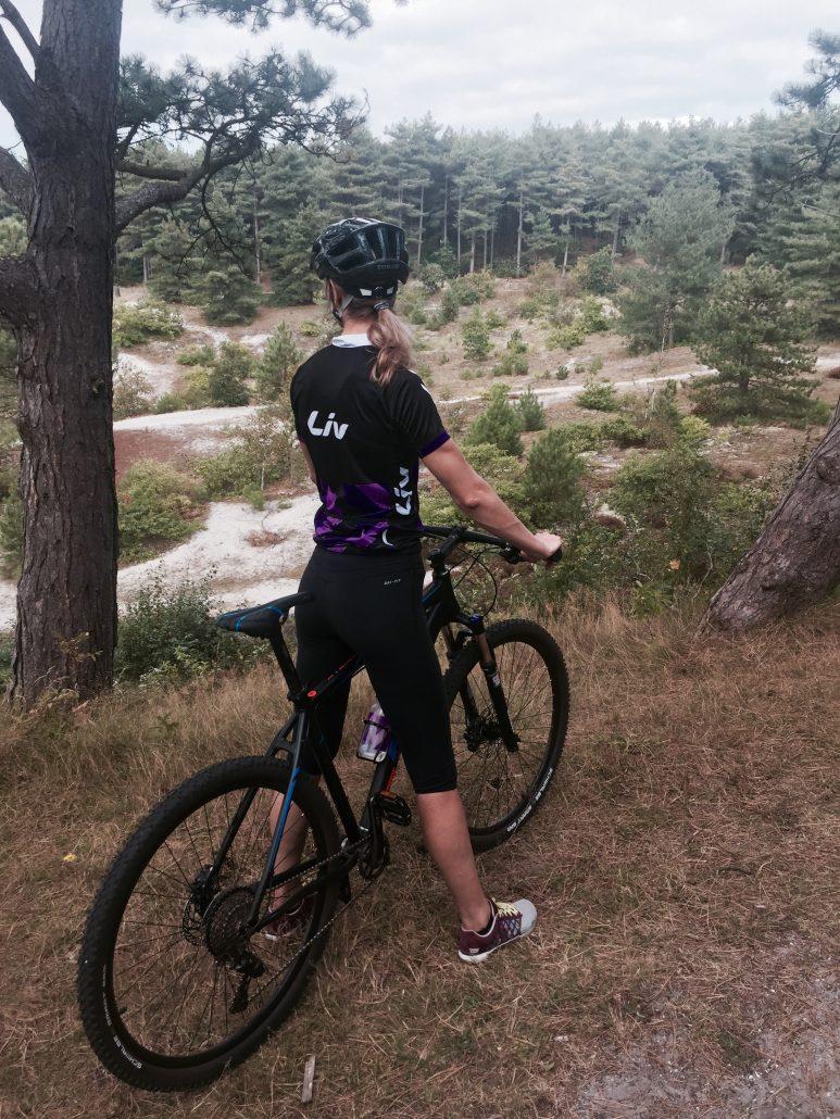 fietsen, mountainbike